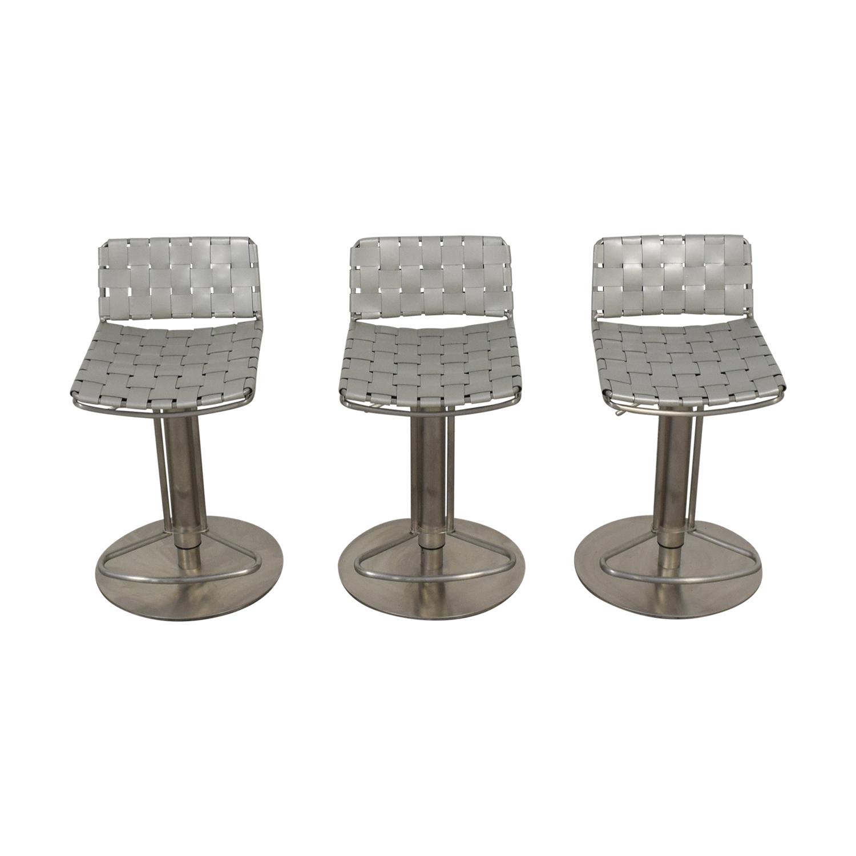 shop Safavieh Floyd Gas Lift Bar Stools Safavieh Chairs