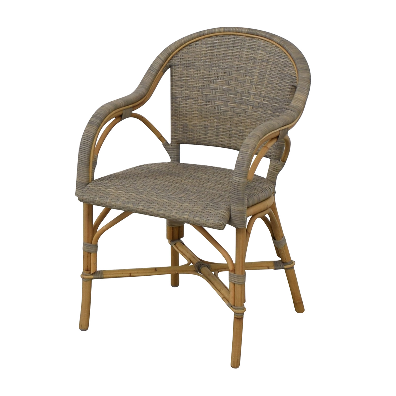 Serena & Lily Serena & Lily Sunwashed Riviera Armchairs second hand