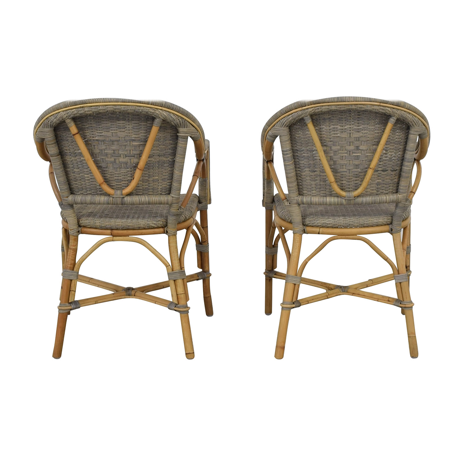 buy Serena & Lily Serena & Lily Sunwashed Riviera Armchairs online