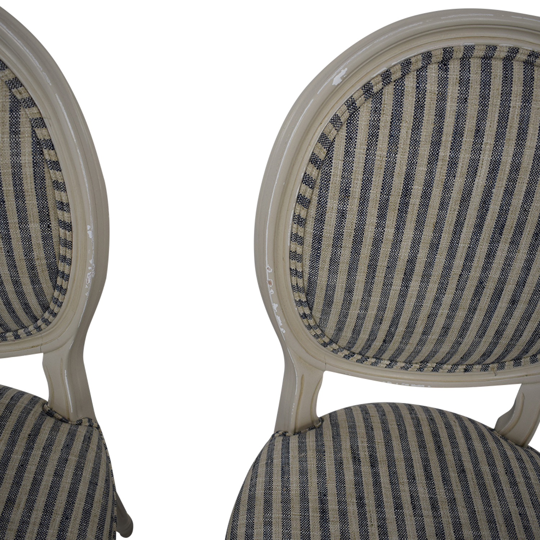 Ballard Designs Ballard Designs Oval Back Louis XVI Side Chair on sale