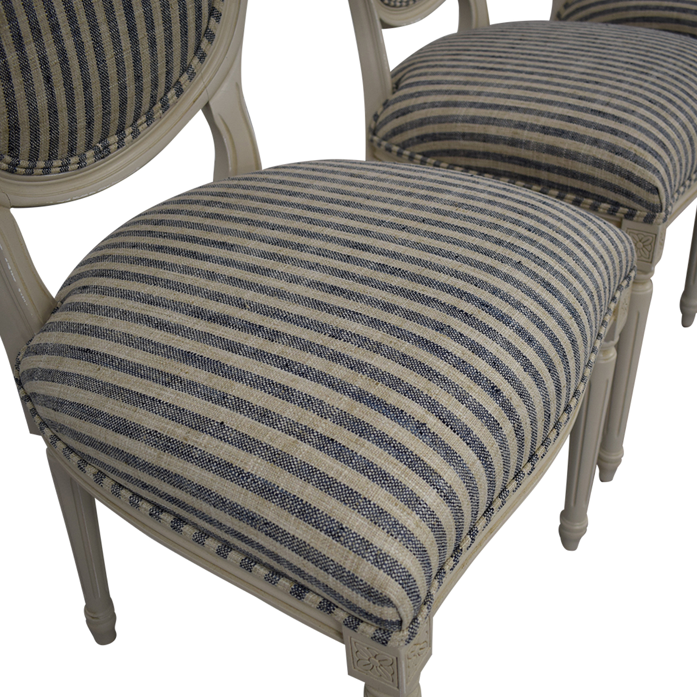 Ballard Designs Oval Back Louis XVI Side Chair sale