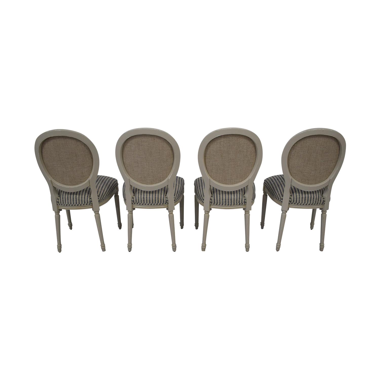 Ballard Designs Ballard Designs Oval Back Louis XVI Side Chair used