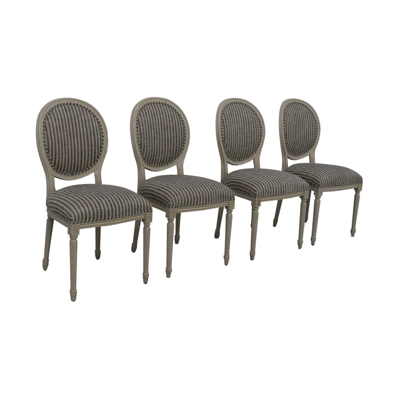 Ballard Designs Ballard Designs Oval Back Louis XVI Side Chair nj