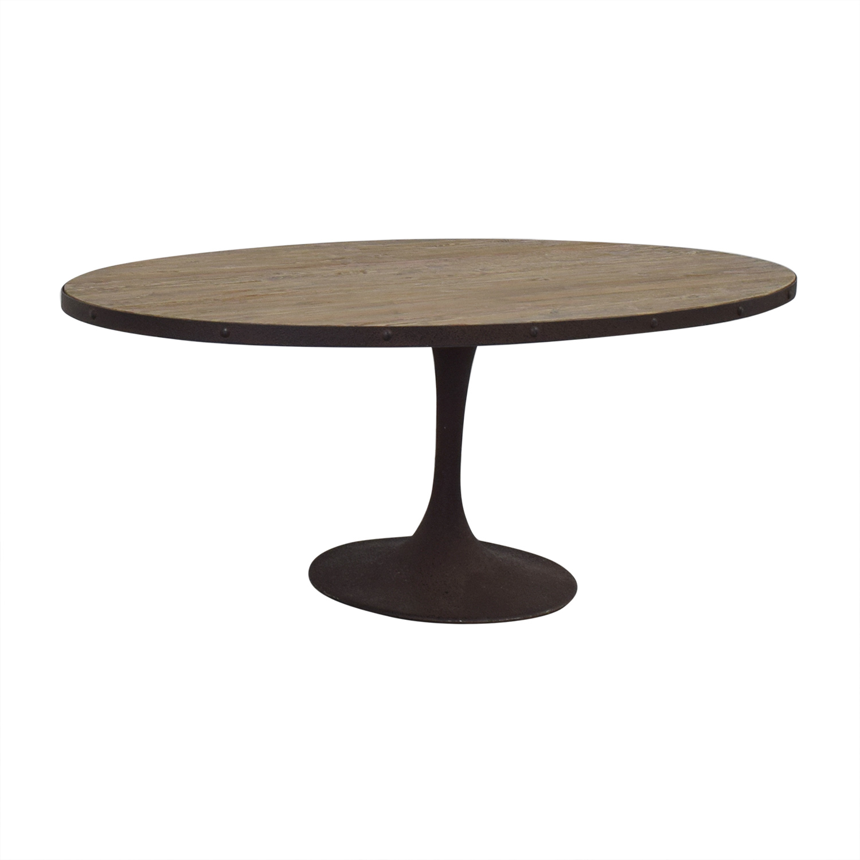 buy LexMod Drive Oval Dining Table LexMod Dinner Tables