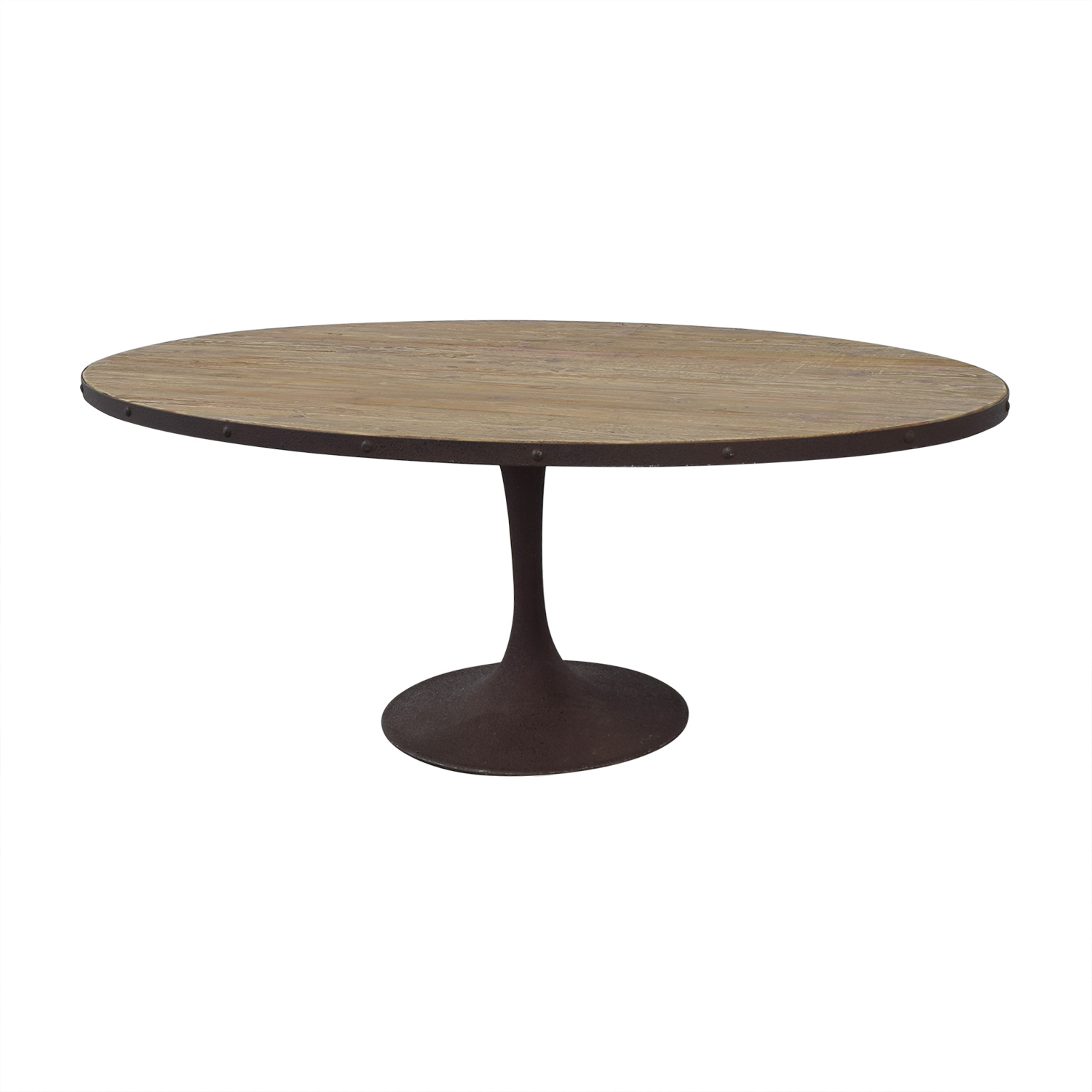 Coffee Table To Dining Table.61 Off Lexmod Lexmod Drive Oval Dining Table Tables