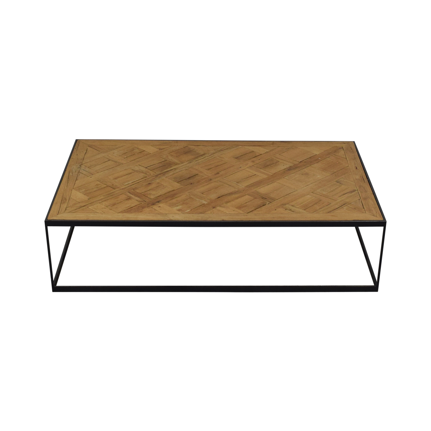 Restoration Hardware Restoration Hardware Square Coffee Table on sale
