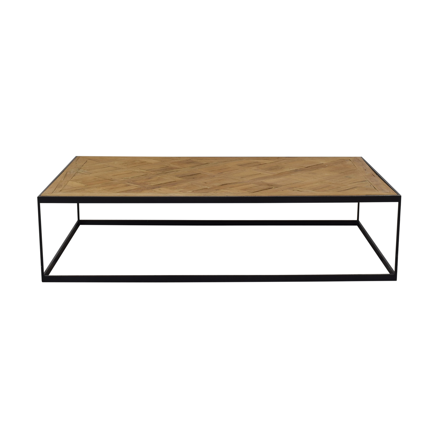 Restoration Hardware Restoration Hardware Square Coffee Table second hand