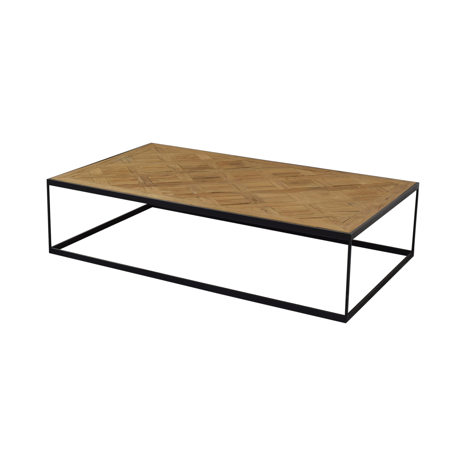 Restoration Hardware Square Coffee Table sale