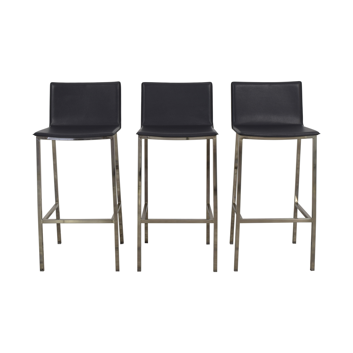 CB2 CB2 Phoenix Bar Stools used