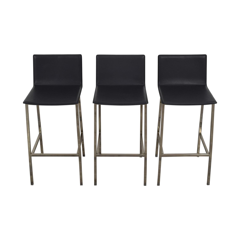 shop CB2 Phoenix Bar Stools CB2 Chairs