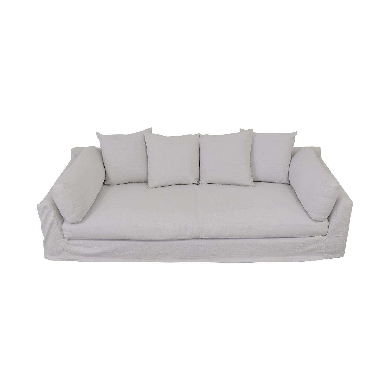buy One Kings Lane Banyon Slipcover Sofa One Kings Lane Sofas