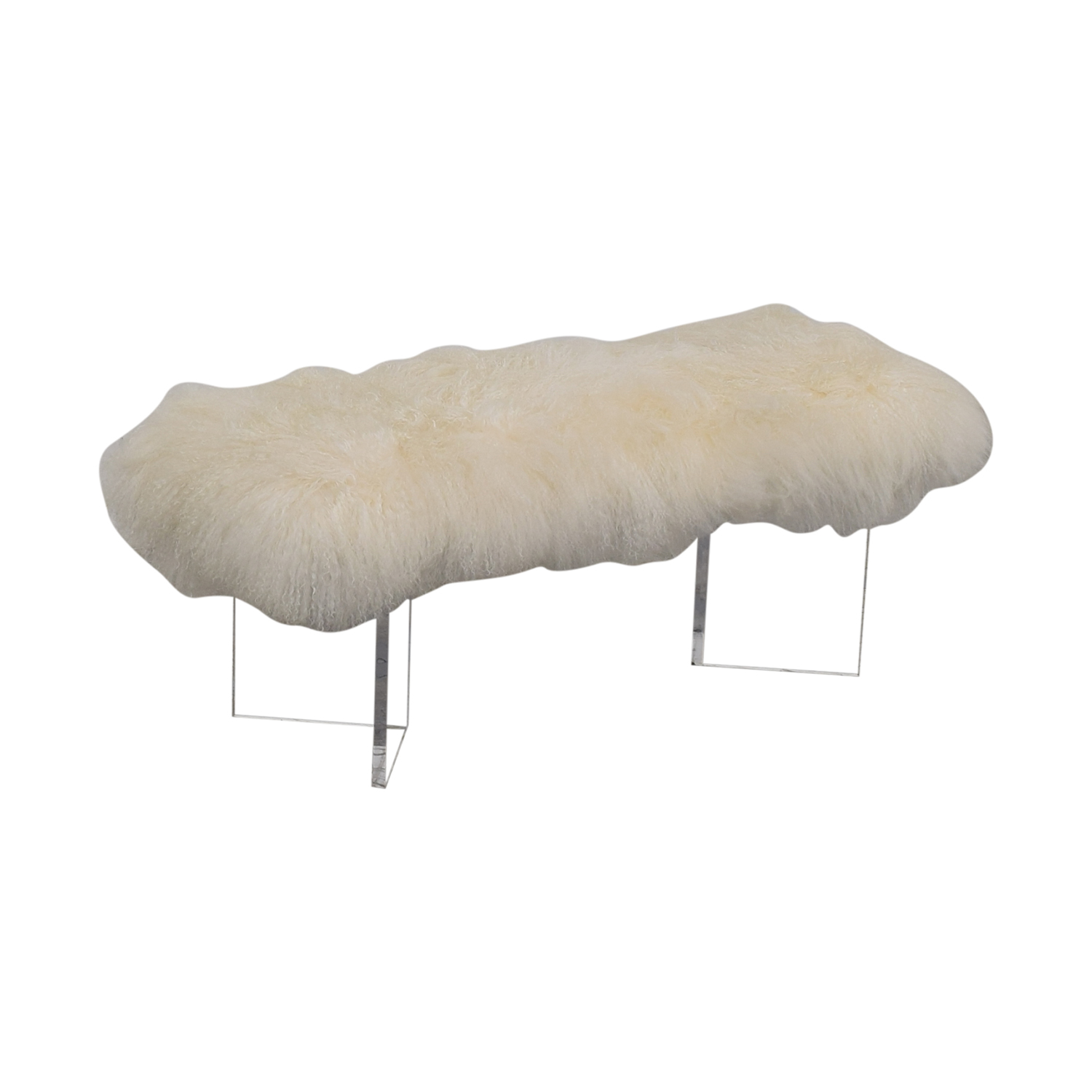 Calypso St. Barth Tibetan Fur Bench / Benches