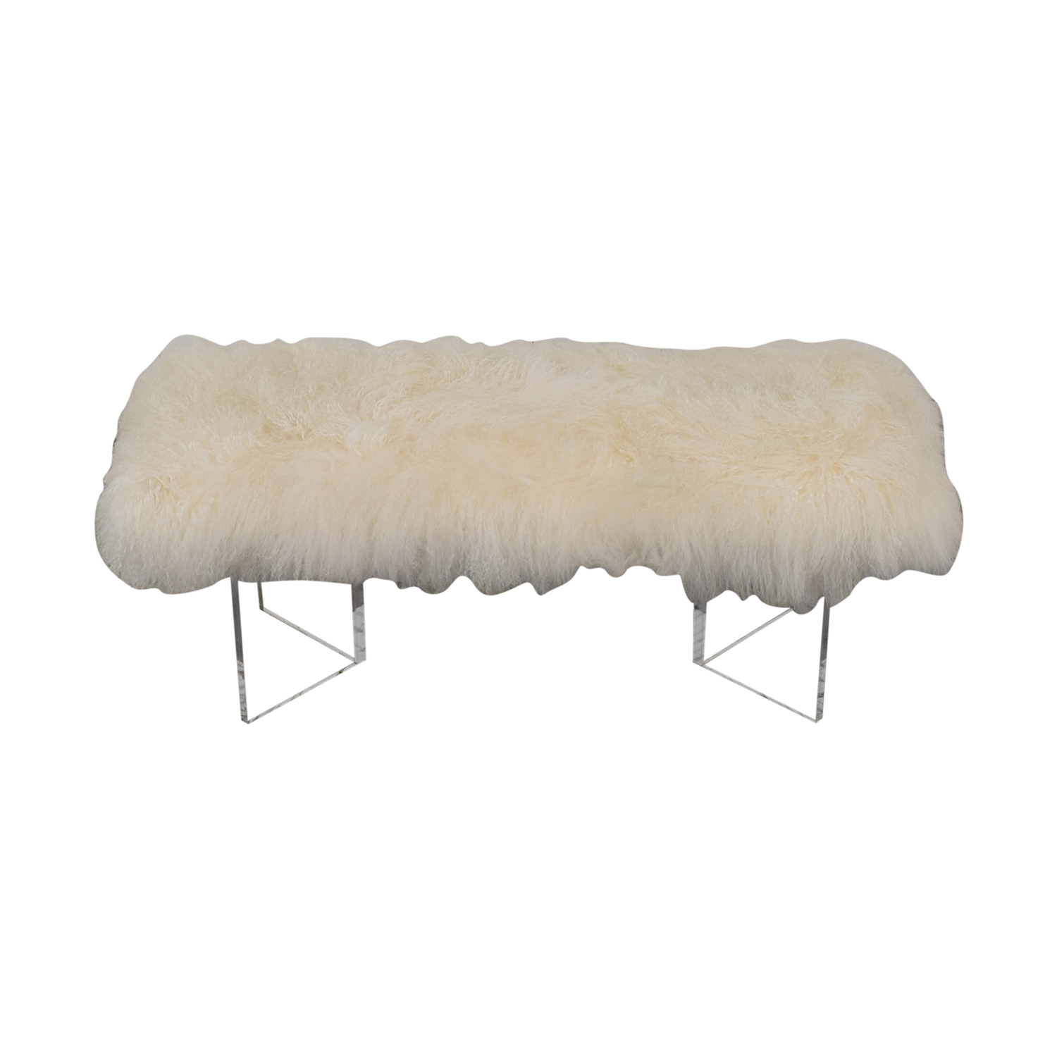 Calypso St Barth Calypso St. Barth Tibetan Fur Bench coupon