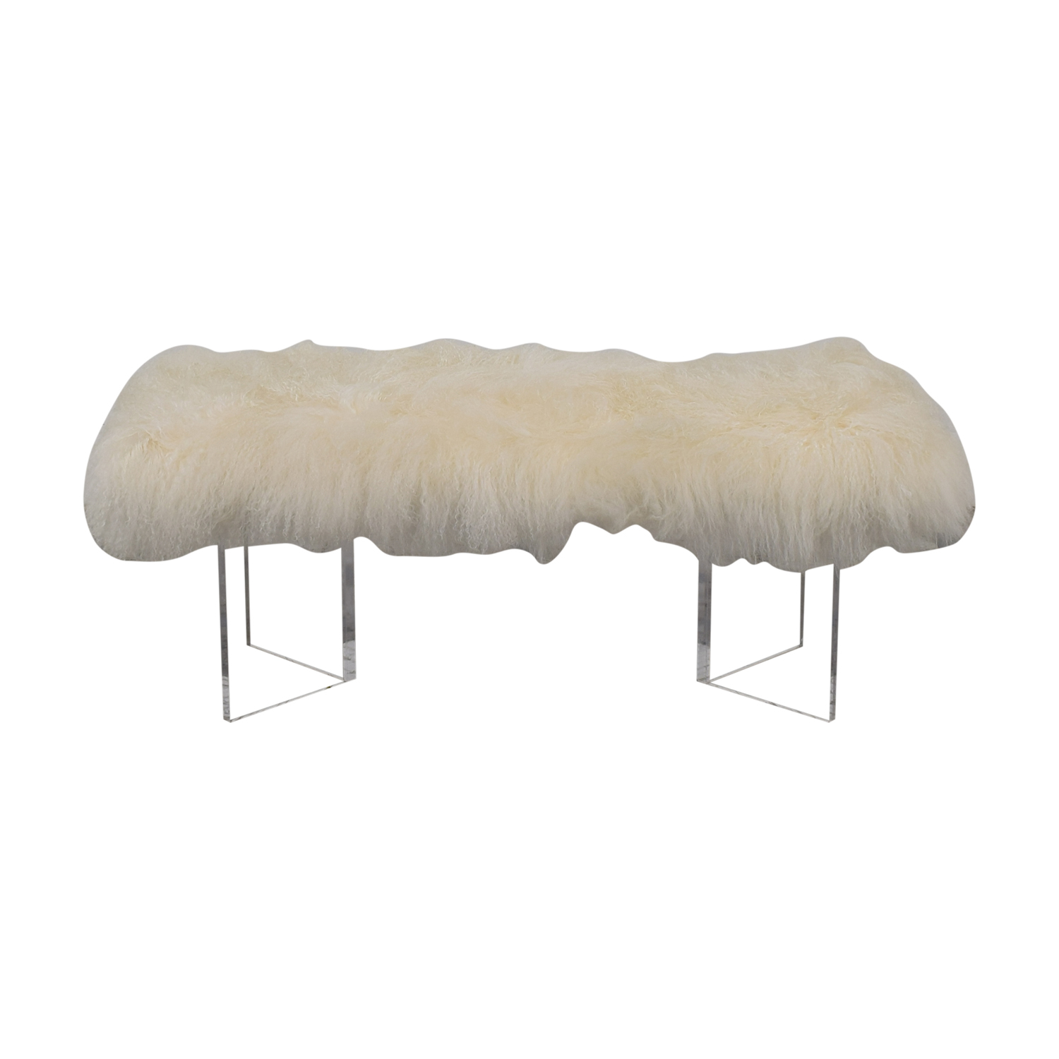 Calypso St Barth Calypso St. Barth Tibetan Fur Bench used