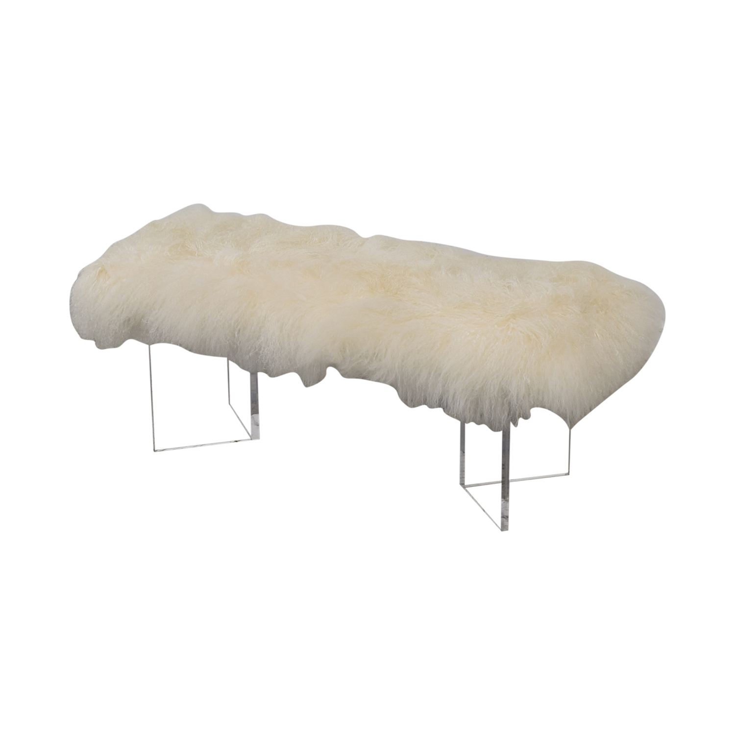 Calypso St. Barth Tibetan Fur Bench / Chairs
