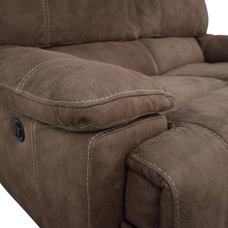 Macy's Power Recliner Loveseat Sofa / Recliners