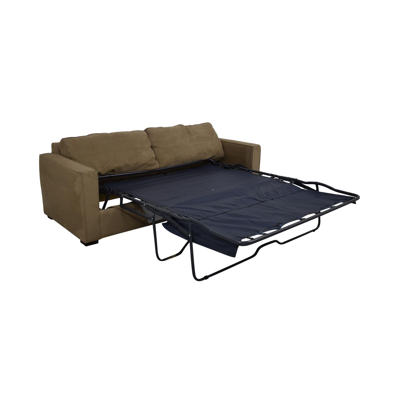 buy Crate & Barrel Queen Sleeper Sofa Crate & Barrel Classic Sofas