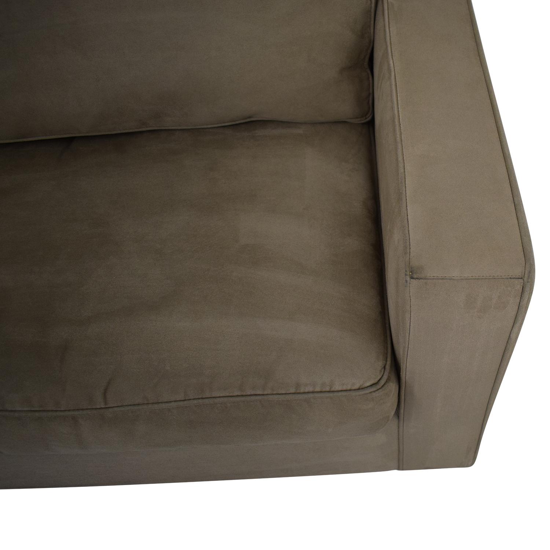 Crate & Barrel Queen Sleeper Sofa sale