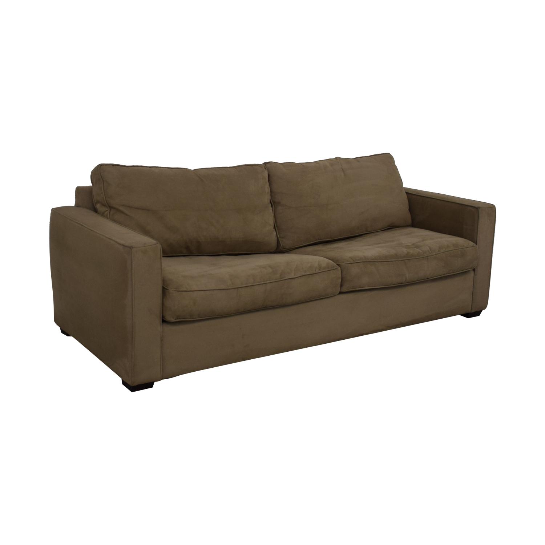 shop Crate & Barrel Queen Sleeper Sofa Crate & Barrel