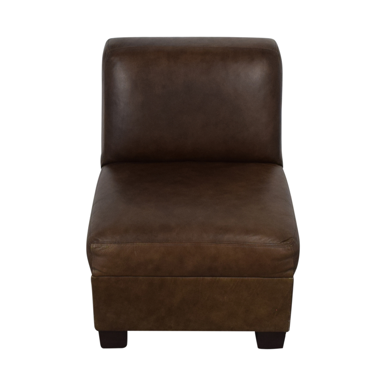 Pottery Barn Pottery Barn Leather Lounge Chair nyc