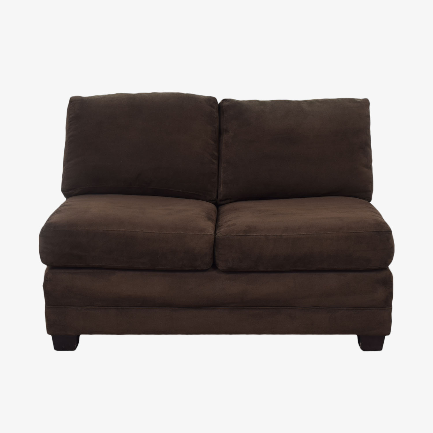 Crate & Barrel Crate & Barrel Axis II Armless Loveseat dimensions