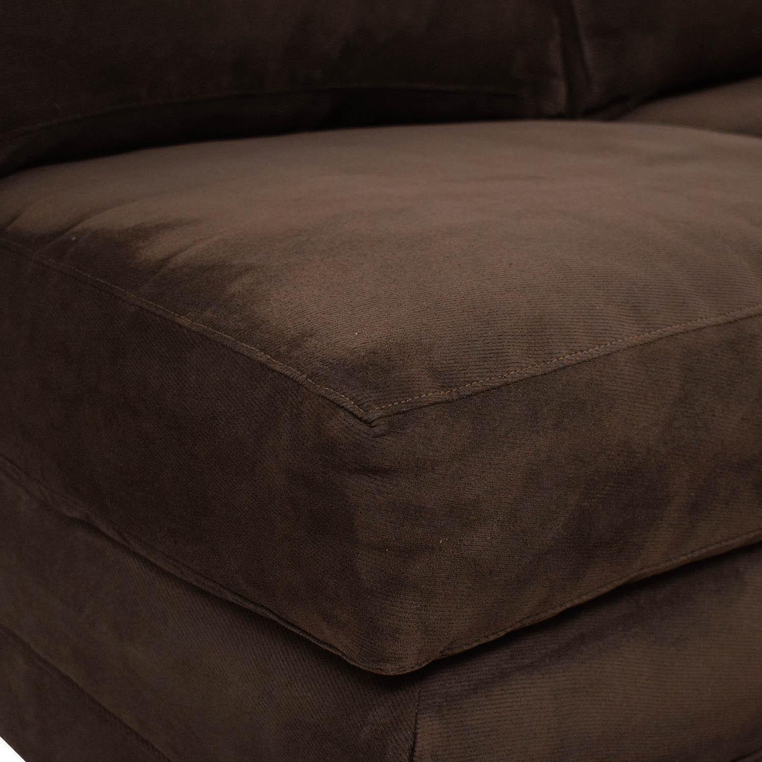81 Off Crate Barrel Crate Barrel Axis Ii Armless Loveseat Sofas