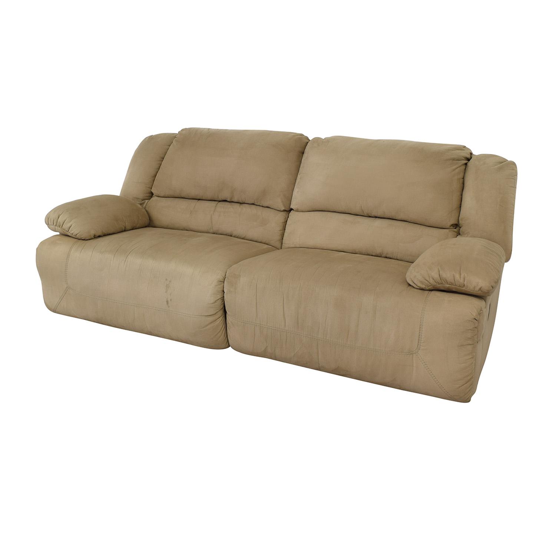 Surprising 83 Off Ashley Furniture Ashley Furniture Hogan Reclining Sofa Sofas Ibusinesslaw Wood Chair Design Ideas Ibusinesslaworg