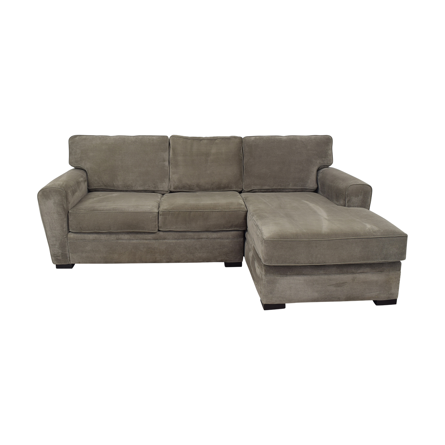 buy Raymour & Flanigan Artemis II Microfiber Sectional Sofa Raymour & Flanigan Sectionals