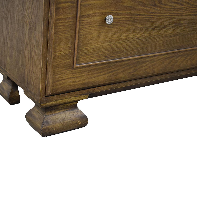 shop Restoration Hardware Solid Wood Dresser Restoration Hardware Storage