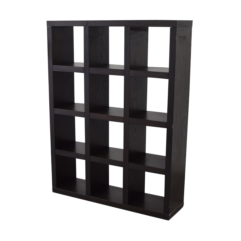 West Elm West Elm Bookshelf Room Divider dimensions