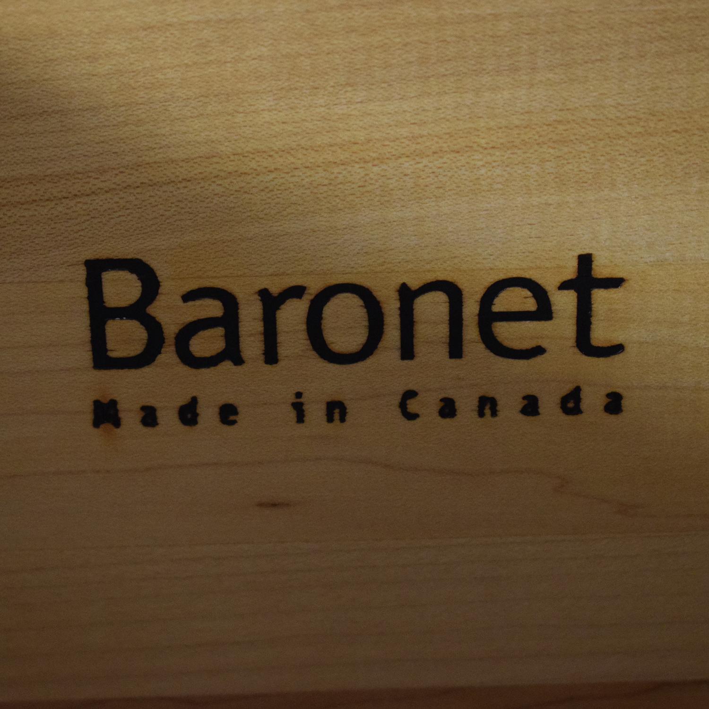 Baronet Baronet Dark Wood Credenza coupon