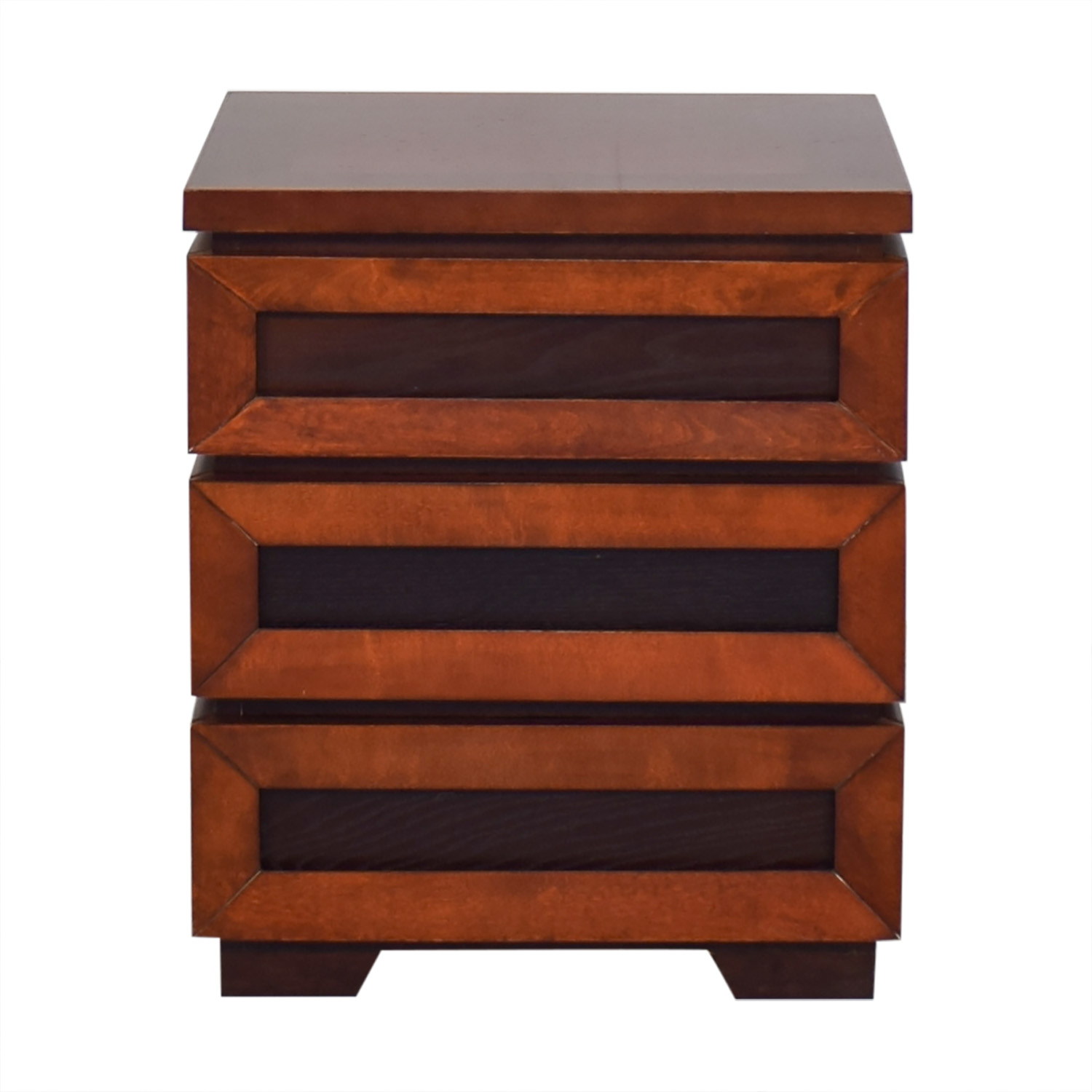 Crate & Barrel Crate & Barrel Side Table with Drawers nj