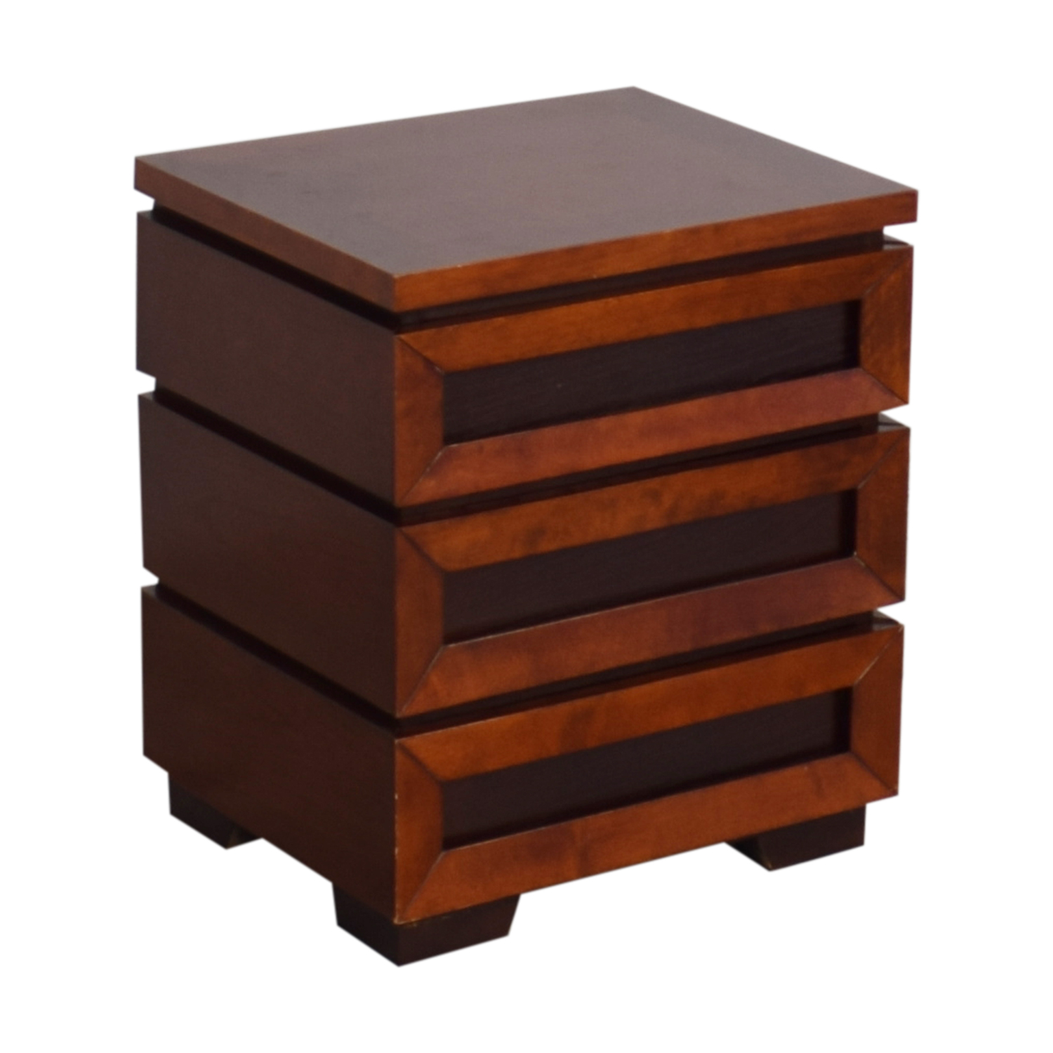 Crate & Barrel Crate & Barrel Side Table with Drawers Tables