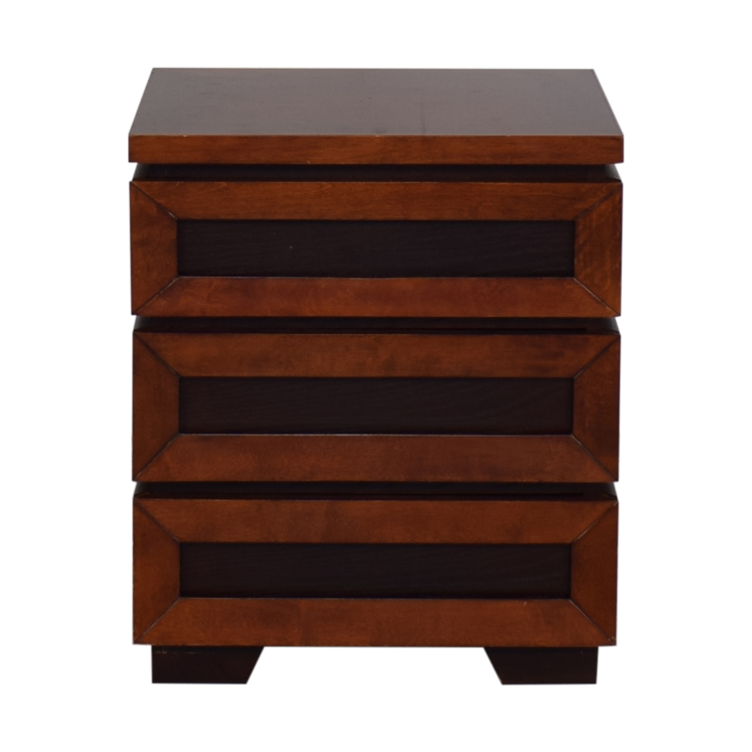buy Crate & Barrel Side Table with Drawers Crate & Barrel