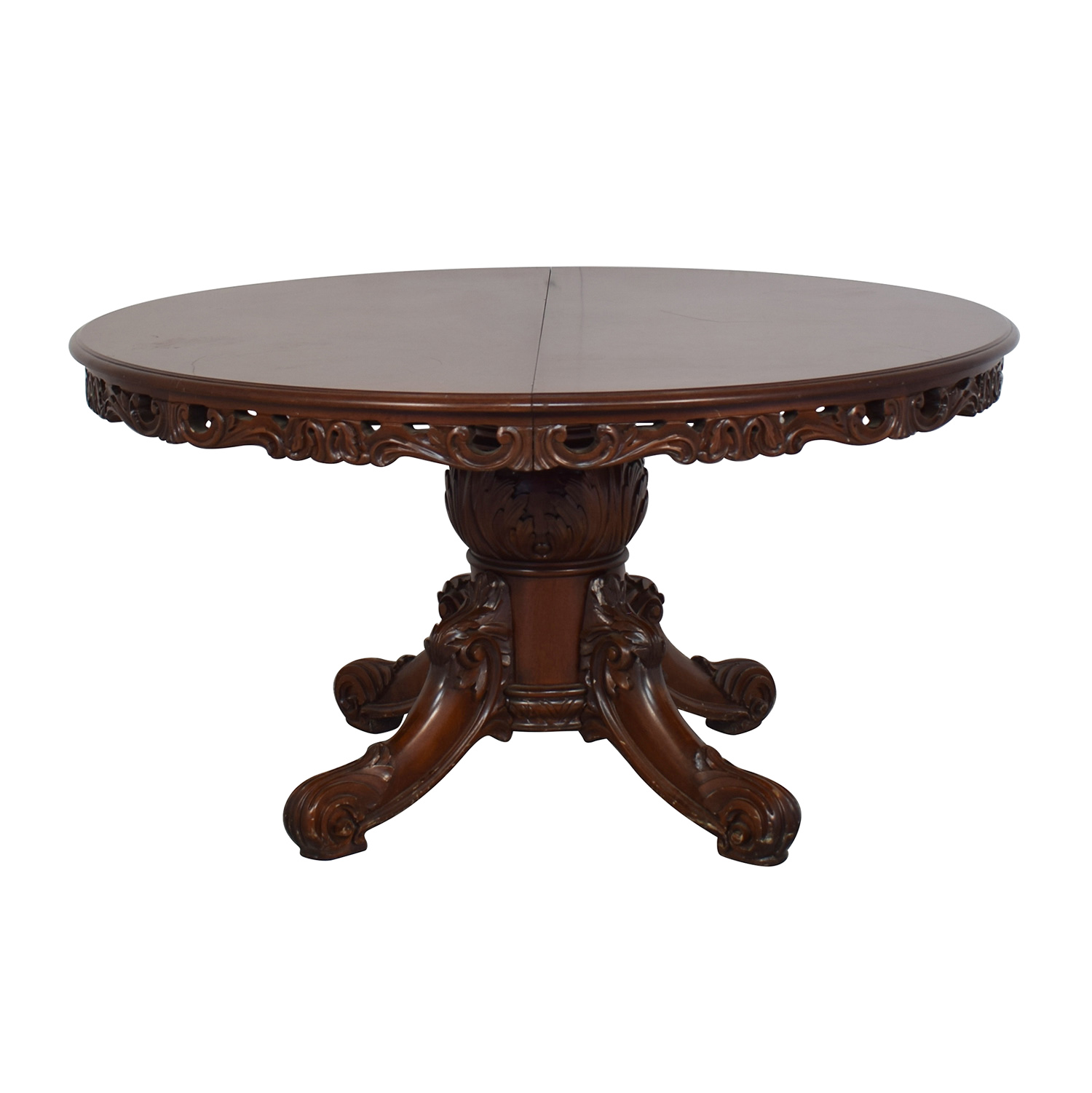 shop Tamer & Tamer Decorative Border Dining Table Tamer & Tamer Dinner Tables