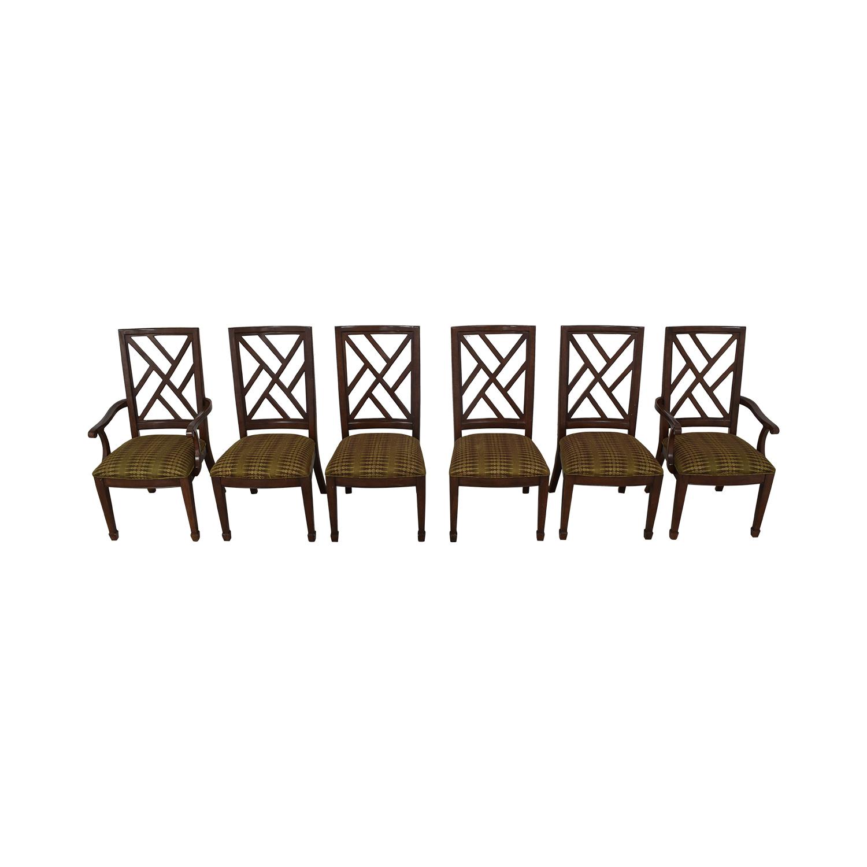 buy Bernhardt Modern Upholstered Dining Chairs Bernhardt