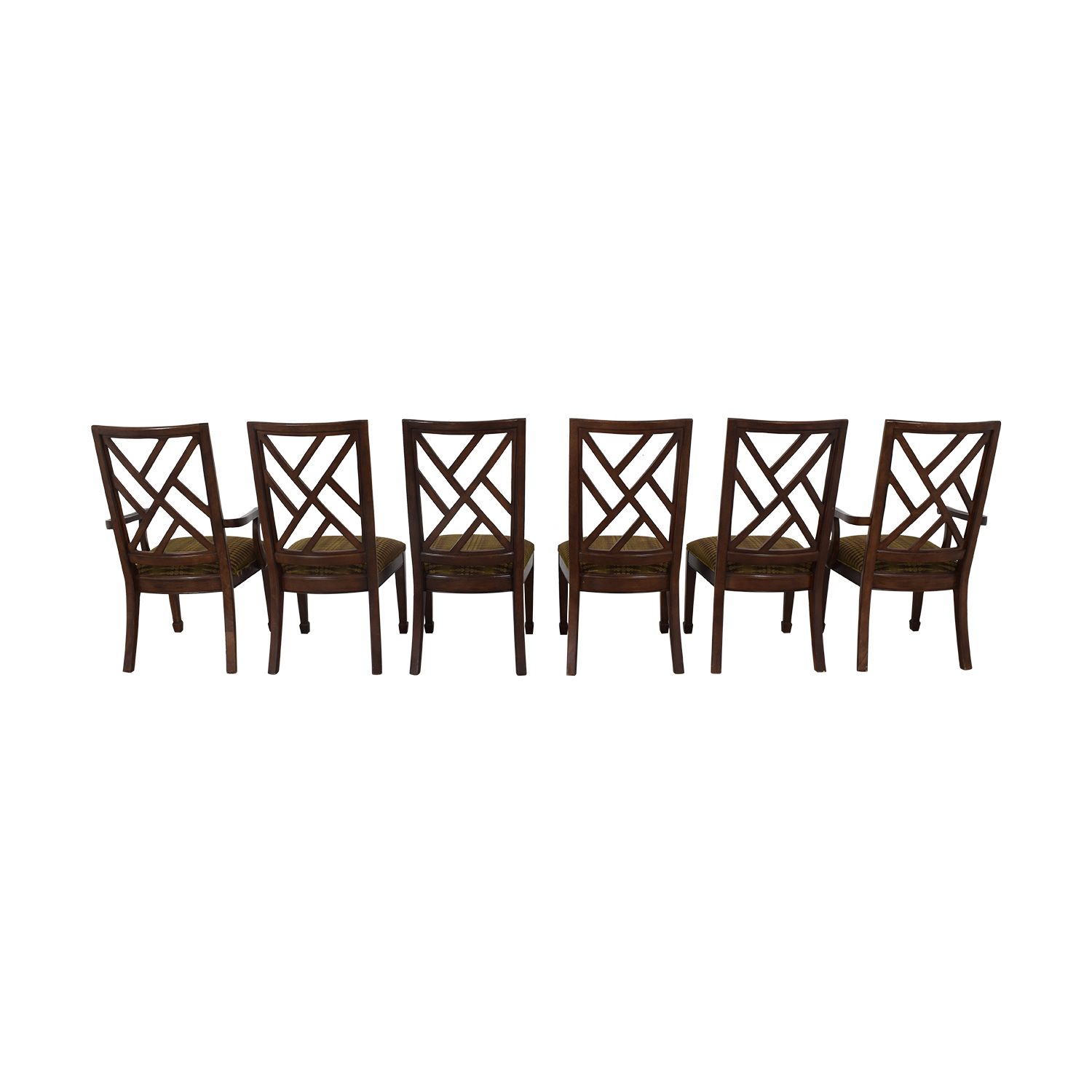 Bernhardt Modern Upholstered Dining Chairs / Dining Chairs