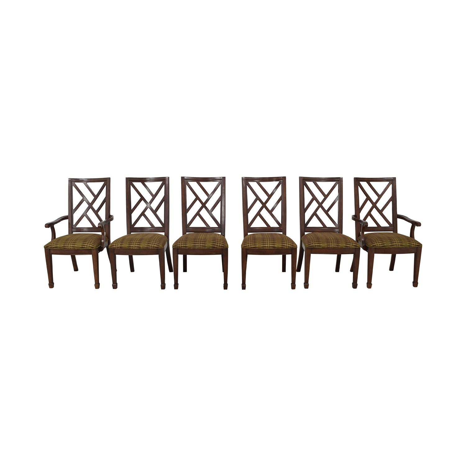 Bernhardt Bernhardt Modern Upholstered Dining Chairs used