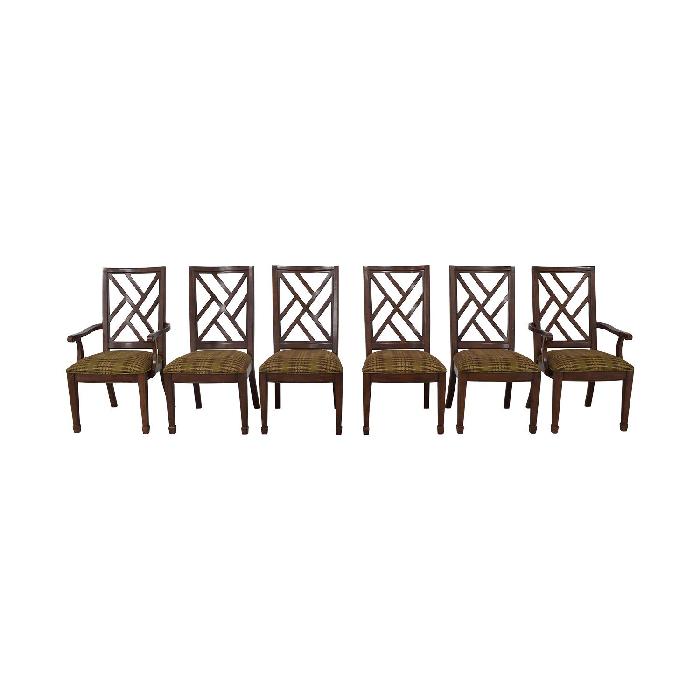 Bernhardt Modern Upholstered Dining Chairs Bernhardt