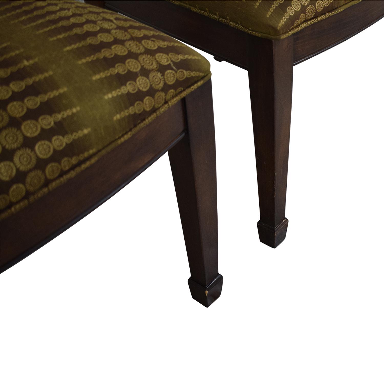 Bernhardt Bernhardt Modern Upholstered Dining Chairs second hand