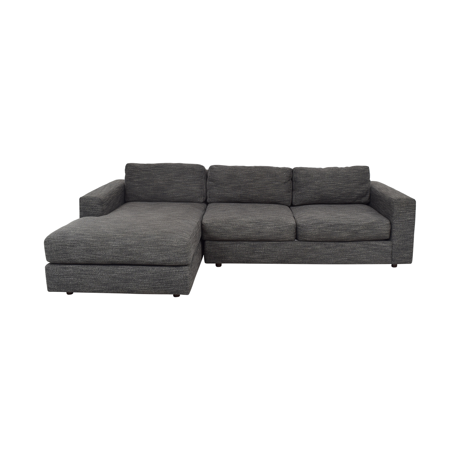 West Elm West Elm Urban Chaise Sectional Sofa nyc