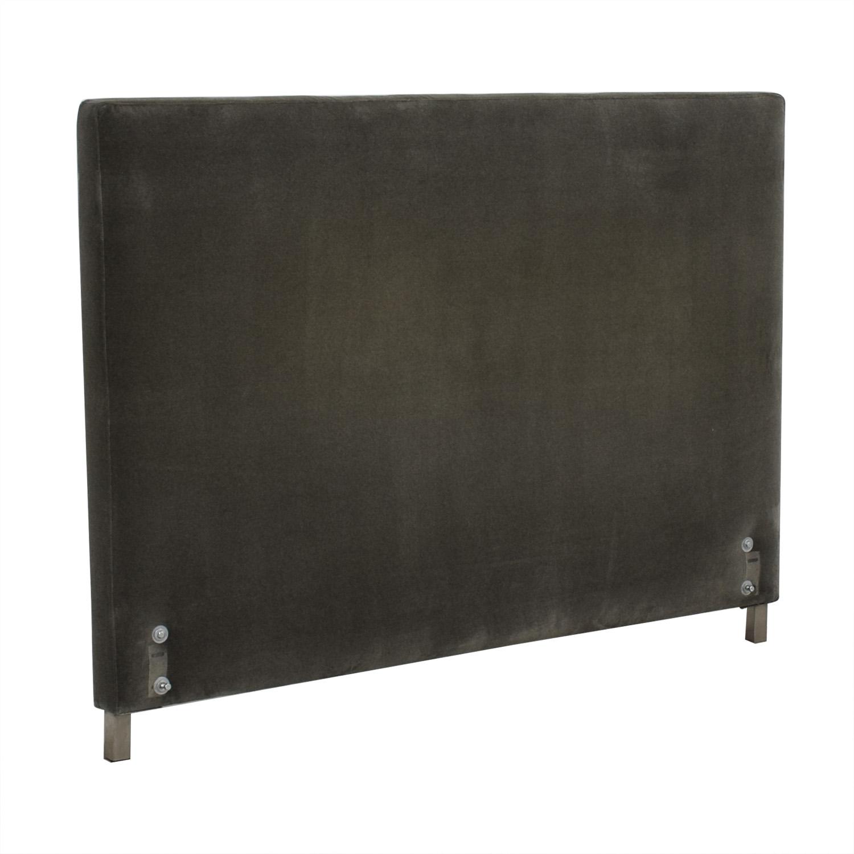 ABC Carpet & Home ABC Carpet & Home Upholstered Headboard grey