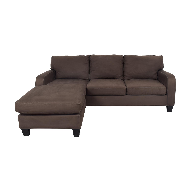 55% OFF - Raymour & Flanigan Raymour & Flanigan Sectional Sofa / Sofas