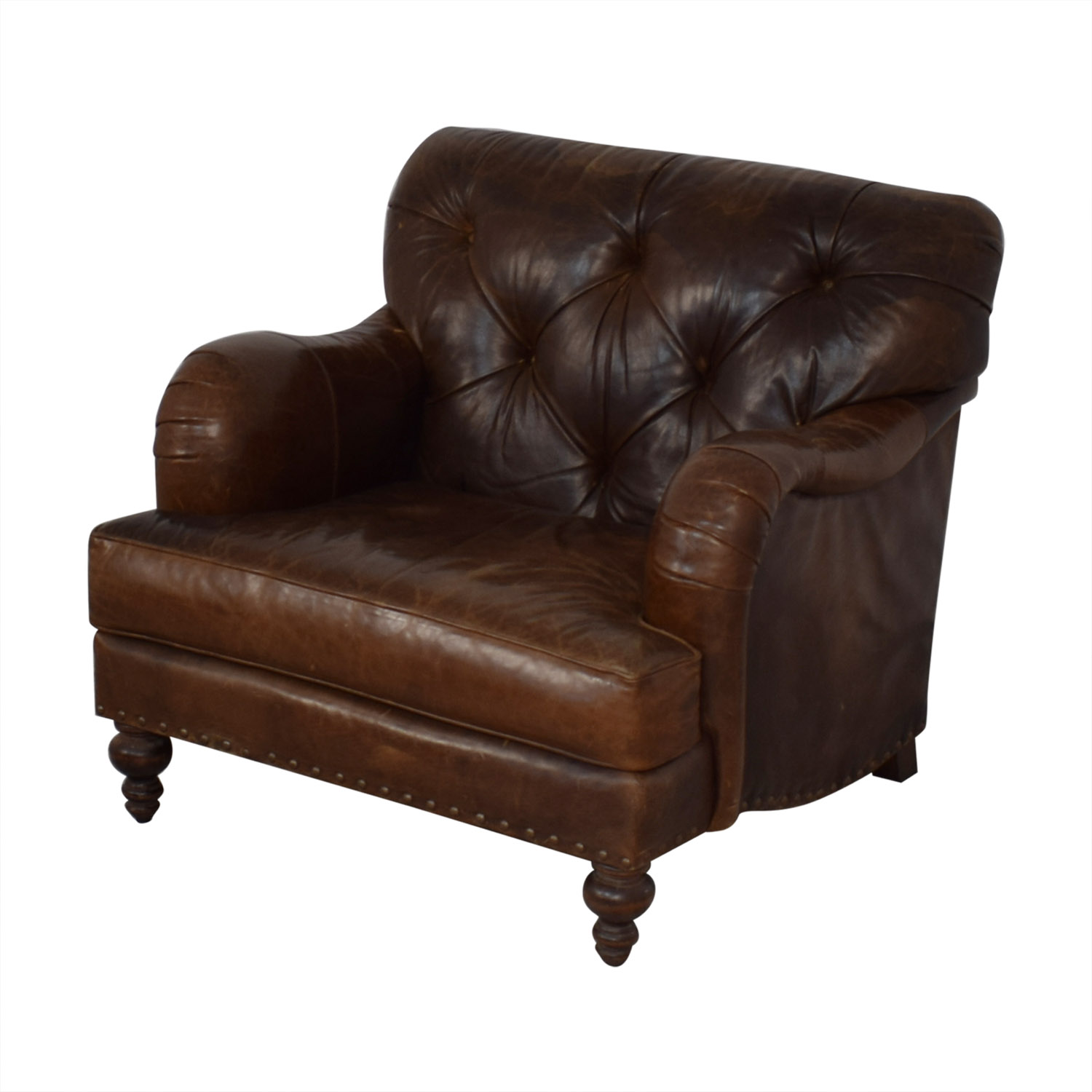 COCOCO COCOCO Chesterfield Accent Chair used