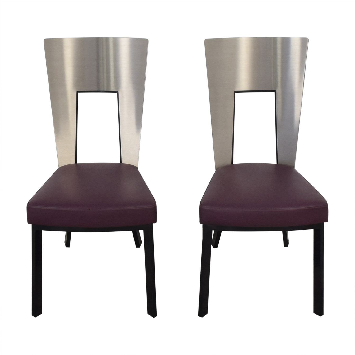 Remarkable 76 Off Elite Modern Elite Modern Regal Dining Chairs Chairs Lamtechconsult Wood Chair Design Ideas Lamtechconsultcom