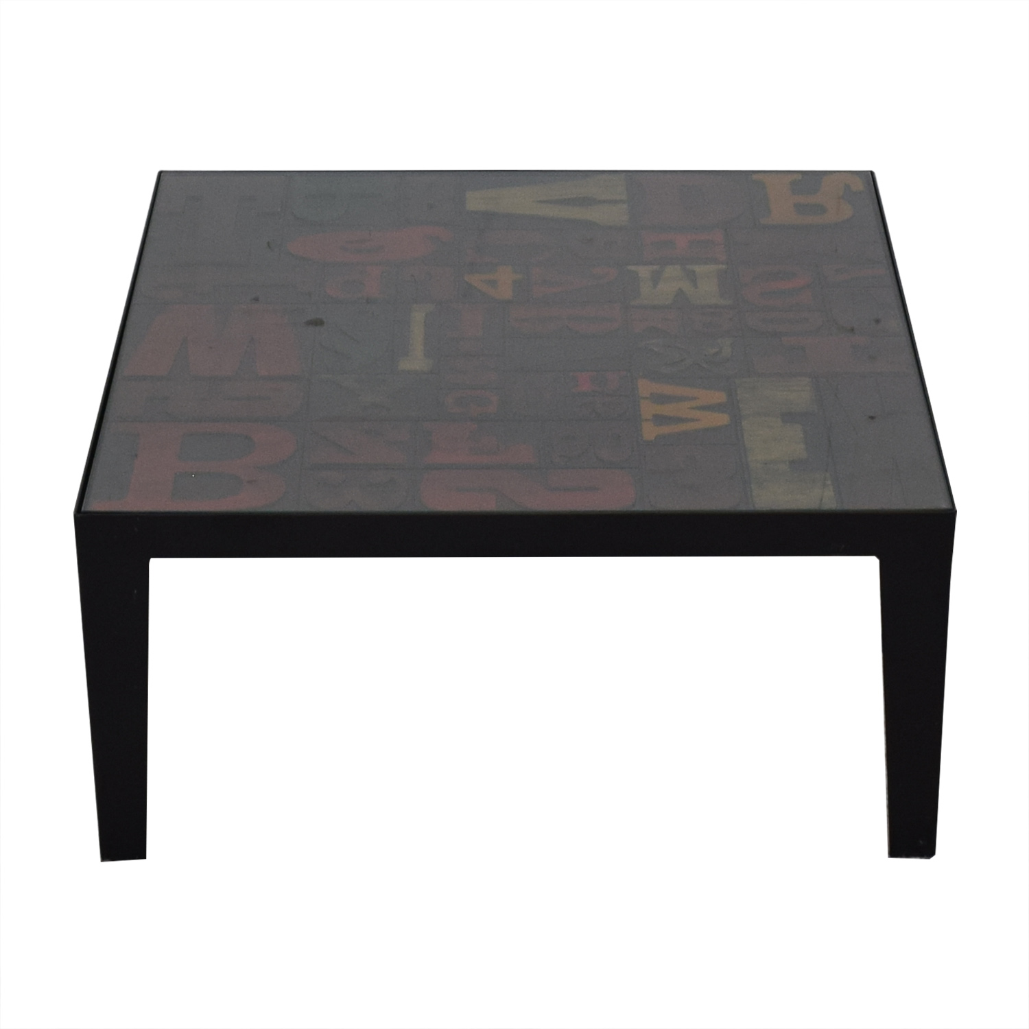 Crate &  Barrel Alpha Coffee Table / Tables