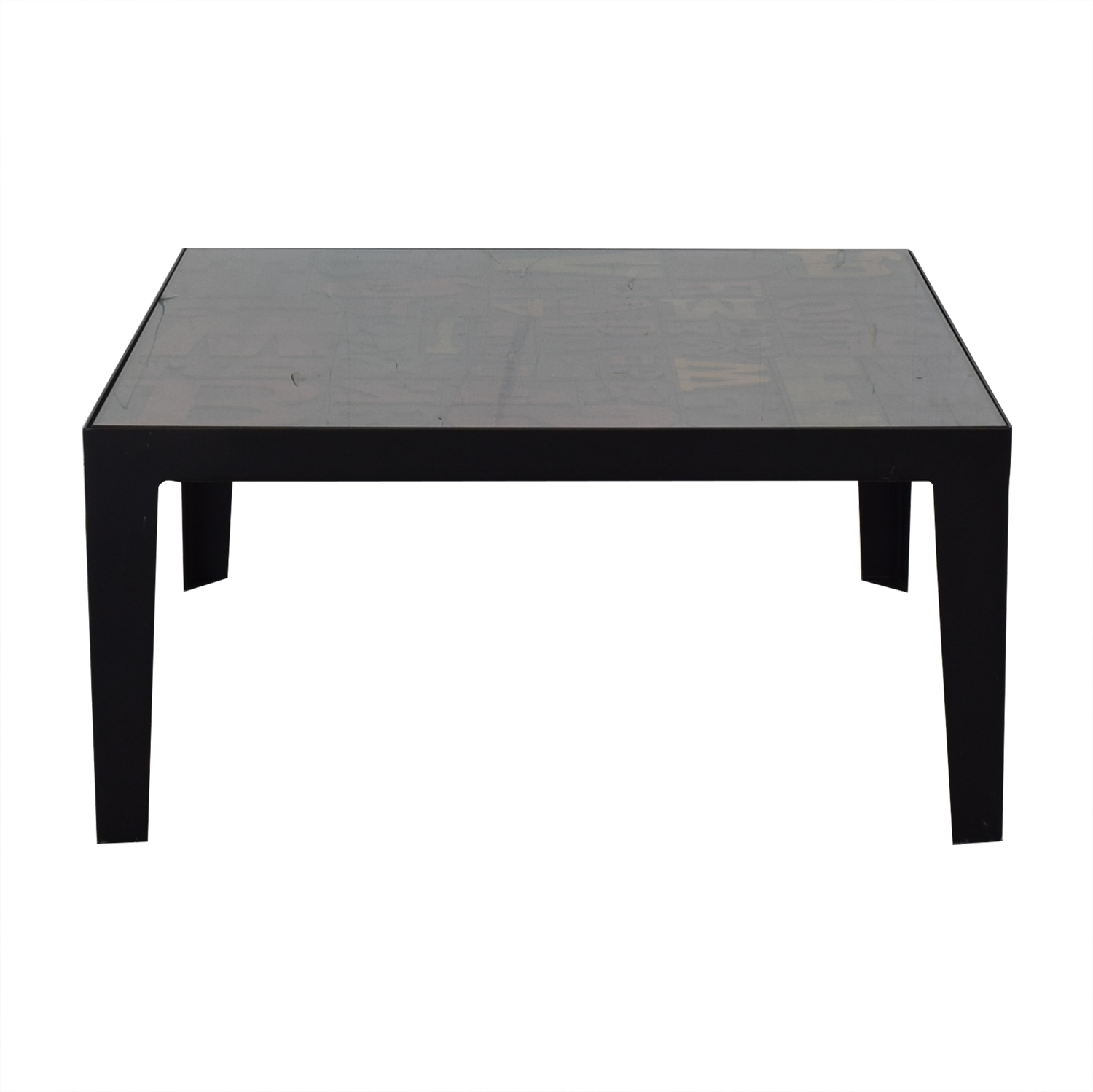 Crate & Barrel Crate &  Barrel Alpha Coffee Table used
