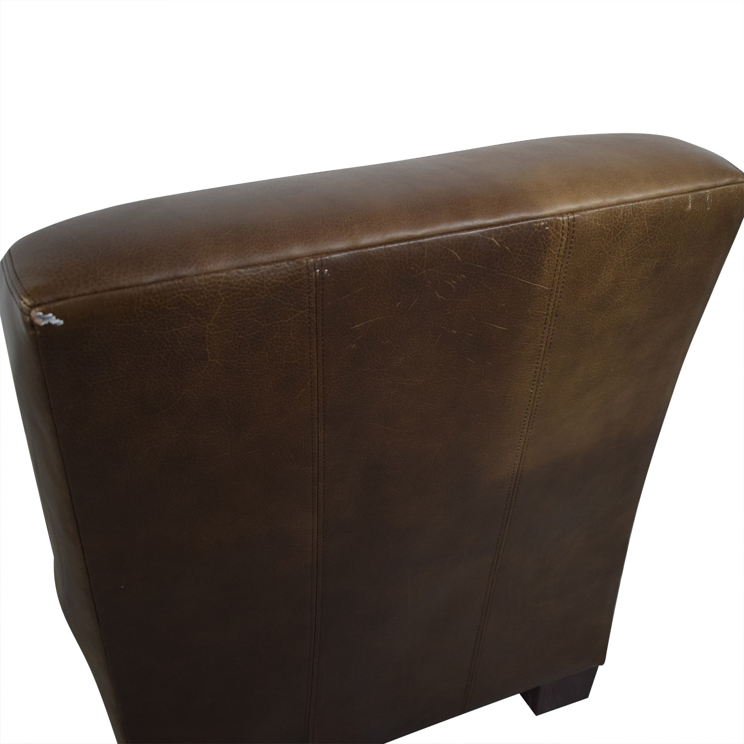 Pottery Barn Pottery Barn Leather Lounge Chair