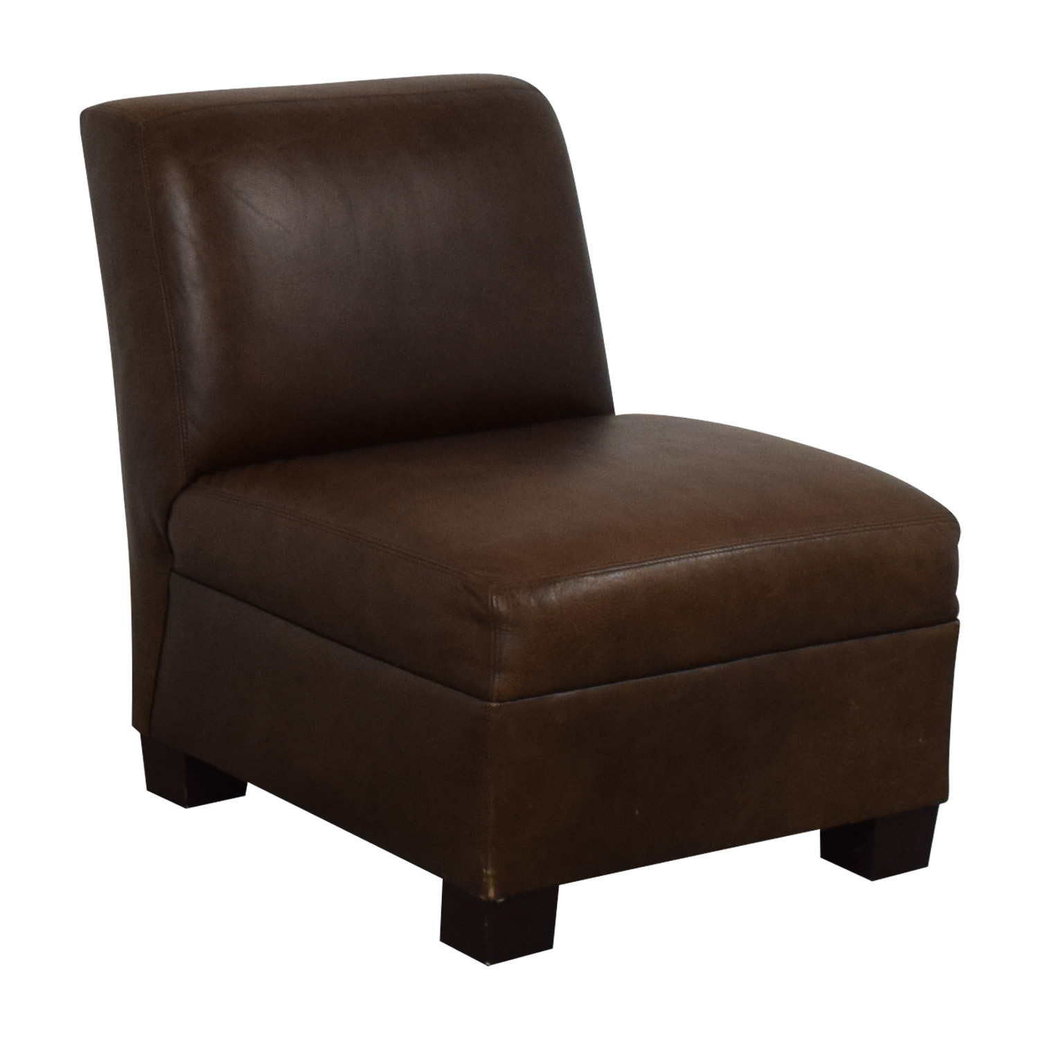buy Pottery Barn Leather Lounge Chair Pottery Barn Accent Chairs