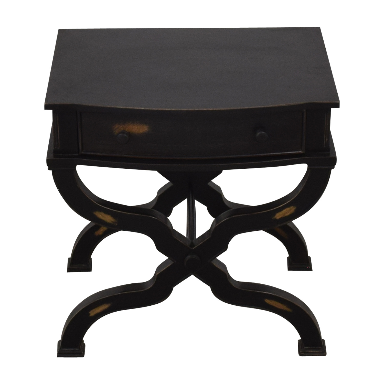 Neiman Marcus Nieman Marcus Distressed End Table on sale